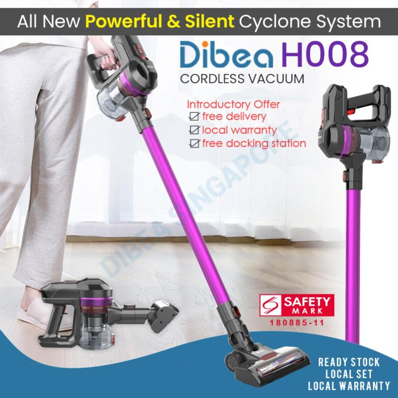 [LOCAL SELLER] DIBEA H008 Cordless Vacuum Cleaner New Arrival 2019 Singapore