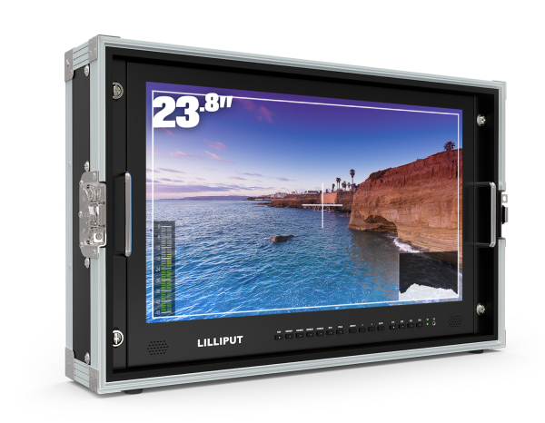 LILLIPUT 23 Inch Director Monitor BM230-4KS with 4K 3840*2160 screen for filmmaking,videoproduction