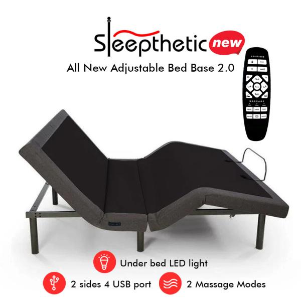 Sleepthetic™ Adjustable Bed Base Version 1.0 / 2.0