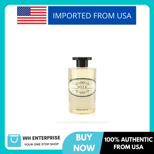 Buy Naturally European Luxury Milk Organic Body Wash - 500ml | No SLS and Parabens | Cleansing and Moisturising Lotion Shower & Bath Gel | For Men and Women Singapore