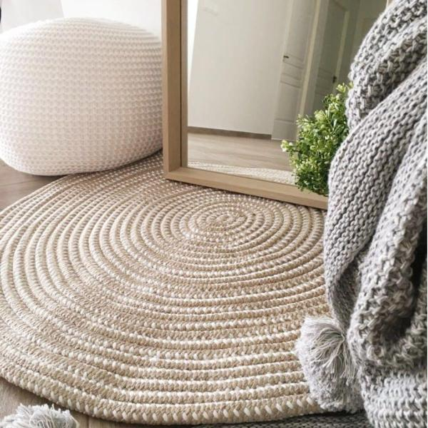 Round Woven Rug
