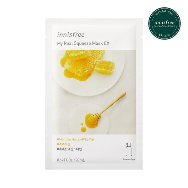 Buy innisfree My Real Squeeze Mask Manuka Honey EX 20ml x 12pcs Singapore