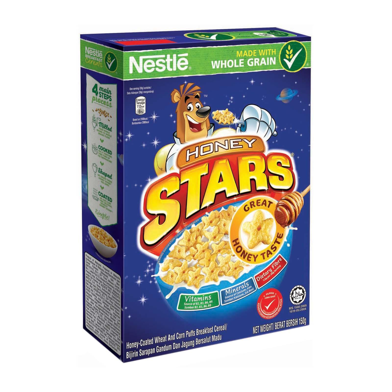 NESTLE HONEY STARS Cereal With Whole Grain