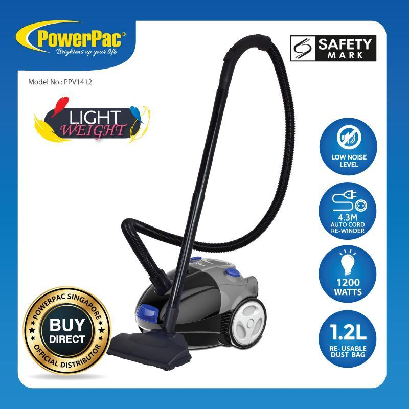 PowerPac Light Weight Vacuum Cleaner with 1200Watts ( PPV1412) Singapore