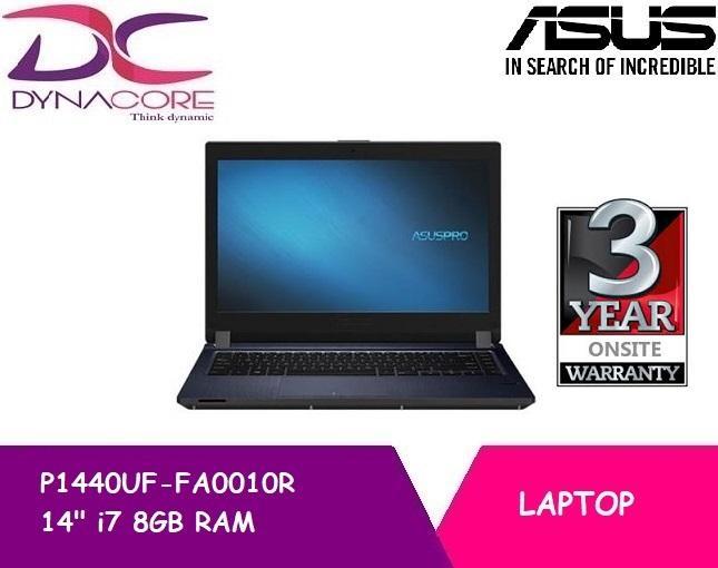 ASUSPRO P1440UF-FA0010R I7-8550U, 8GB, 256GB SSD+1TB HDD+TPM 14 Inch FHD Win 10 Pro