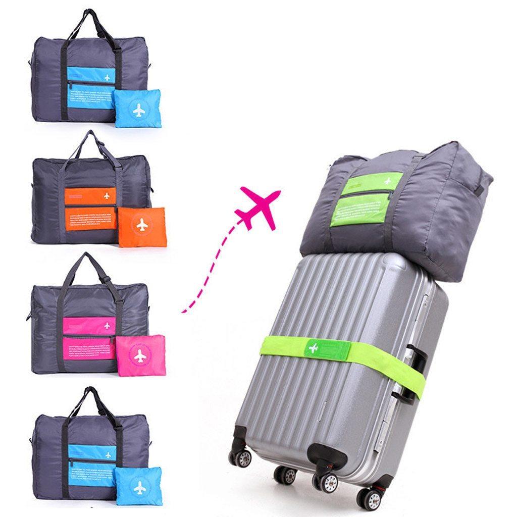 Unisex Foldable Large Travel Luggage Bag (LLS1354) Singapore Seller + 100% Authentic.