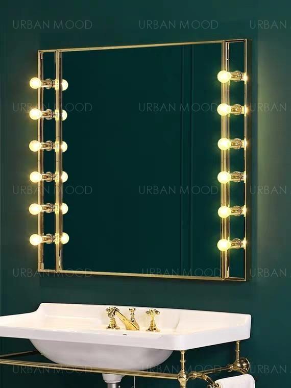 AUBREY Hollywood Spotlight Vanity Mirror