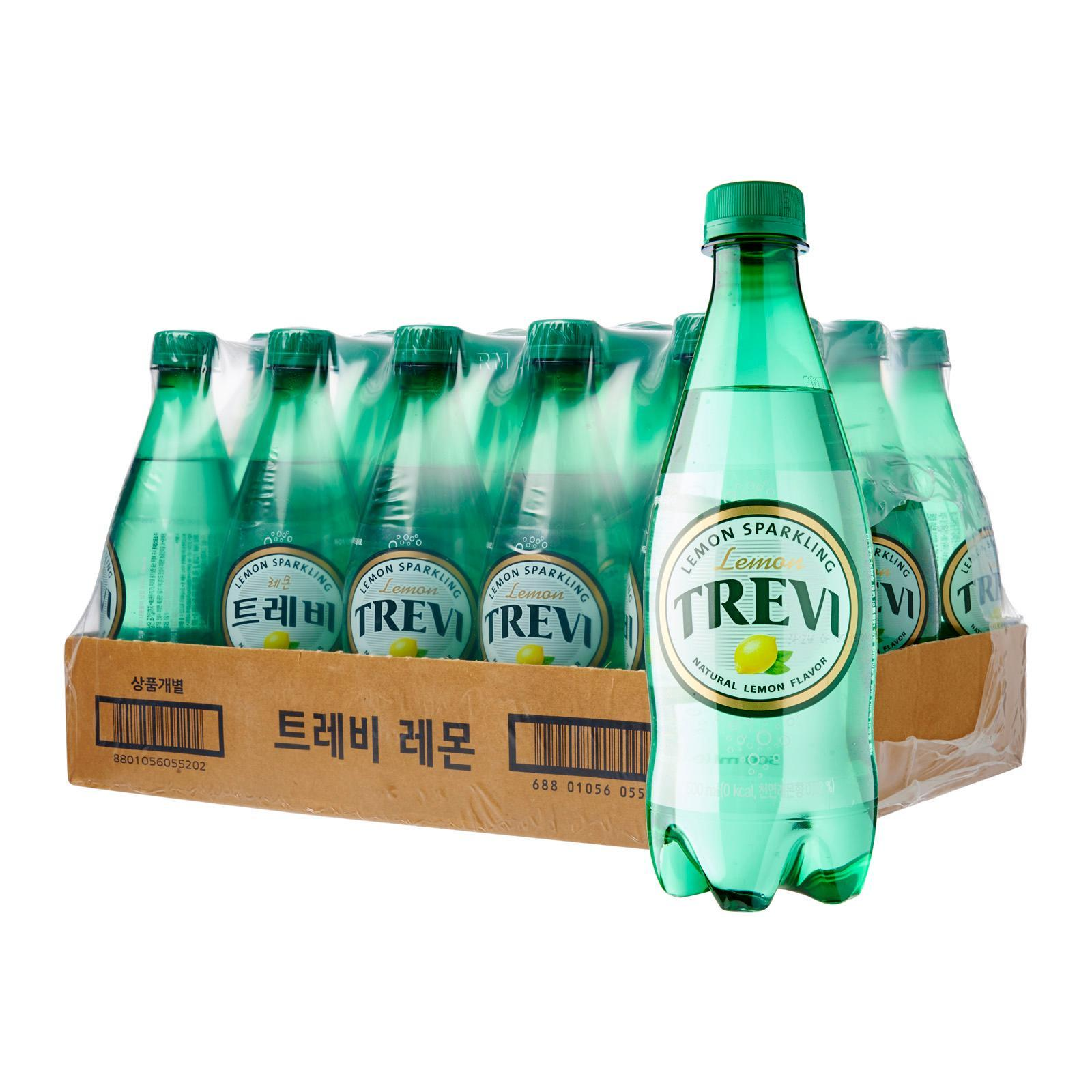 Lotte Chilsung Trevi Sparkling Water Lemon - Case By Redmart.