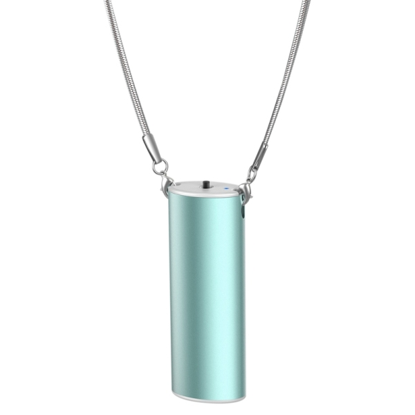 Personal Wearable Air Purifier Necklace USB Mini Portable Air Freshner Ionizer Negative Ion Generator for Home Random