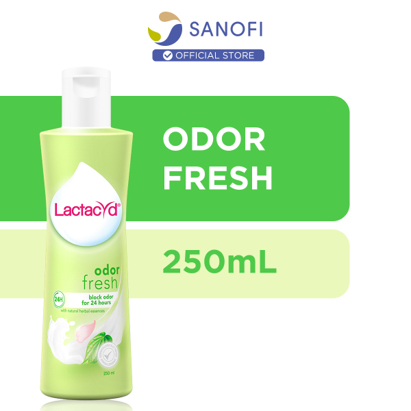 Buy Lactacyd Feminine Wash Odor Fresh 24 Hours Protection from Odor 250ml Singapore