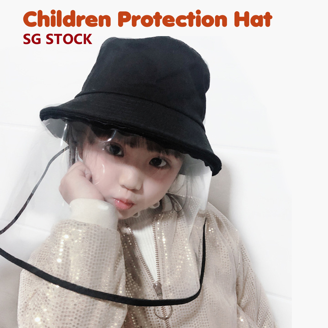 Epidemic Protection Mask Outdoor Waterproof and Dustproof Fisherman Hat for Men Women Safety Anti-Spitting Hat Full Face Shield Anti-Fog Cover Dogggy Anti-Saliva Protective Cap