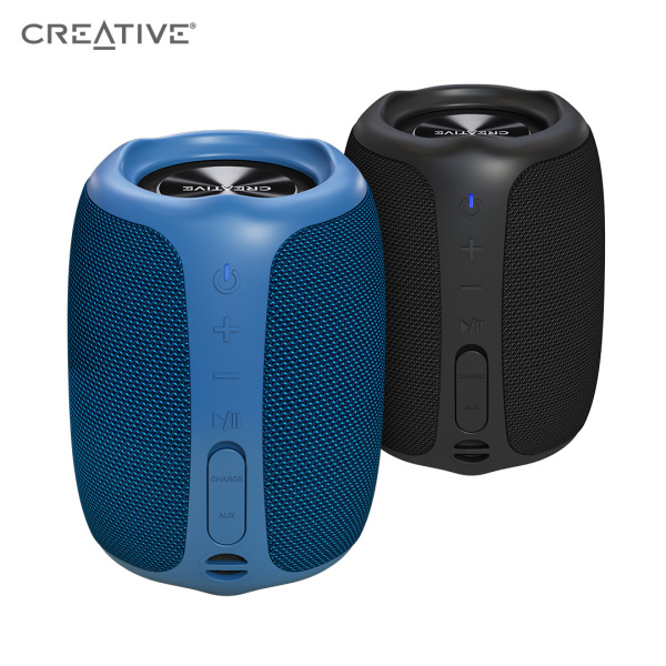 Creative Muvo Play Portable Bluetooth 5.0 Speaker, IPX7 Waterproof for Outdoors, Up to 10 Hours of Battery Life, with Siri and Google Assistant Singapore