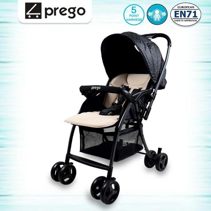 prego Lite One Hand Fold Newborn Stroller 2 Ways Facing Singapore