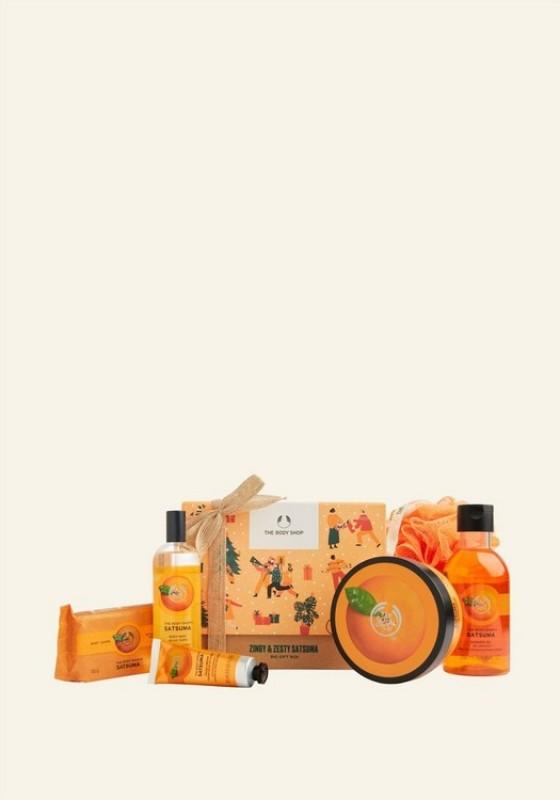 Buy The Body Shop Zingy & Zesty Satsuma Big Gift Box (Christmas Gift Set) (Lazada Exclusive) Singapore
