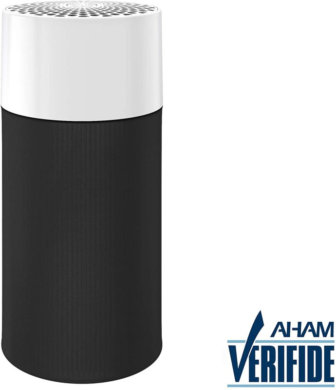 Blueair Blue Pure 411 Air Purifier for home 3 Stage with Washable Pre-Filter, Particle, Carbon Filter, Captures Allergens, Viruses, Odors, Smoke, Mold, Dust, Germs, Pets, Smokers, Small Room Singapore