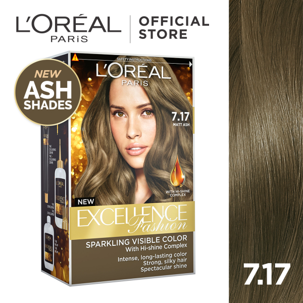 Buy LOreal Paris Excellence Fashion Hair Color - Ash Shades Singapore