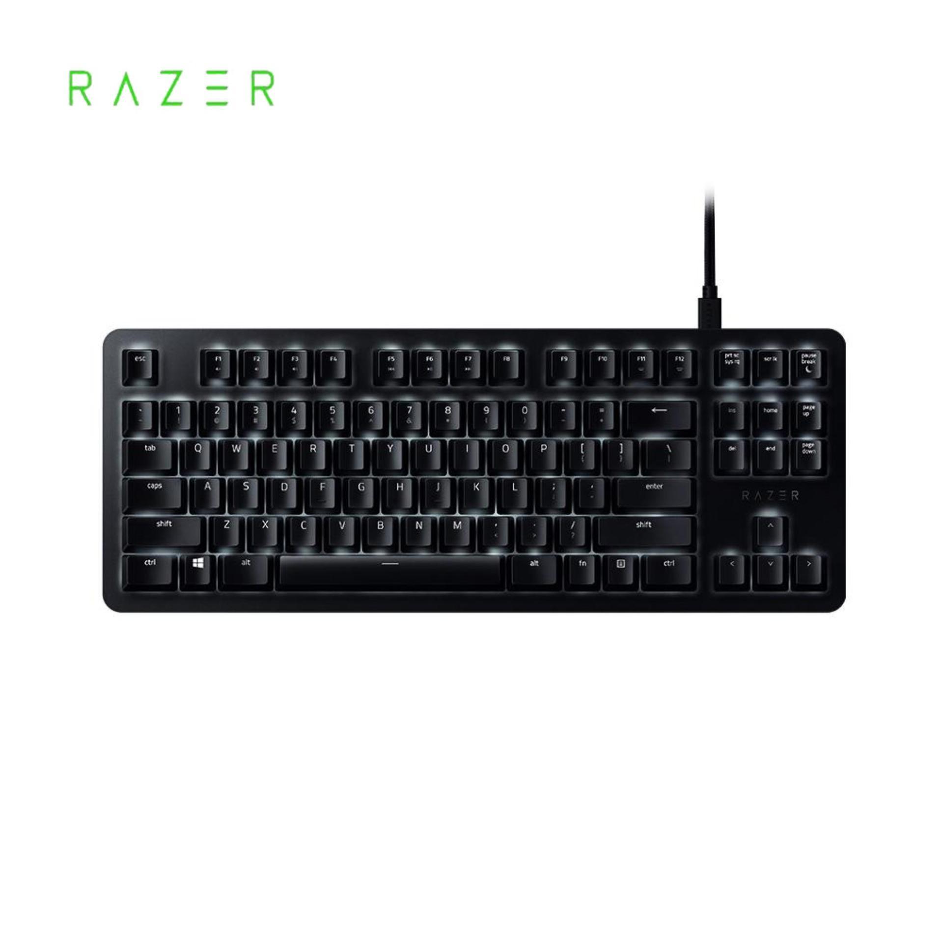 Razer BlackWidow Mechanical Keyboard Gaming Office Orange Mechanical Switches Wired Keyboard 87 Keys Singapore