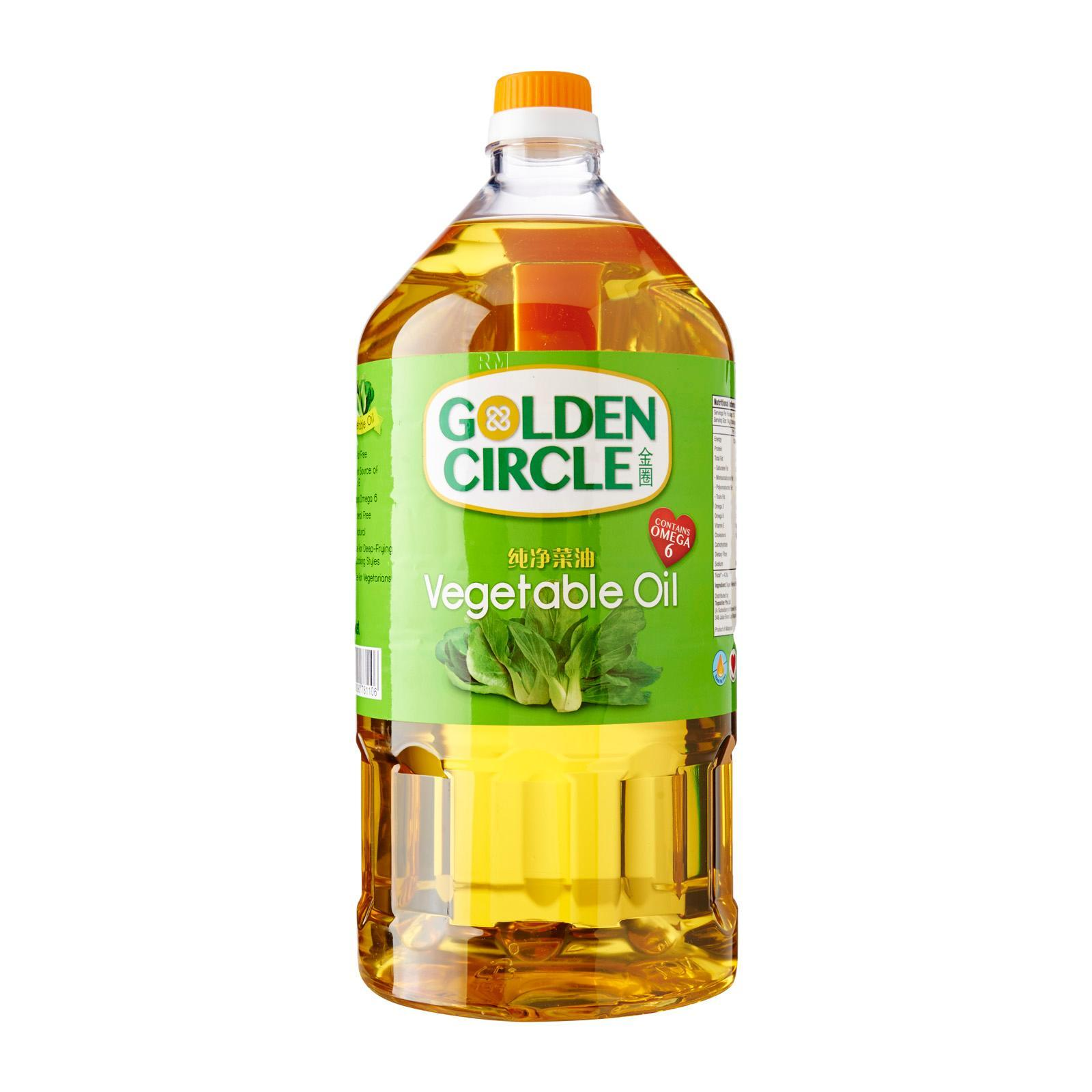 Golden Circle 100 - Percent Pure Vegetable Oil By Redmart.
