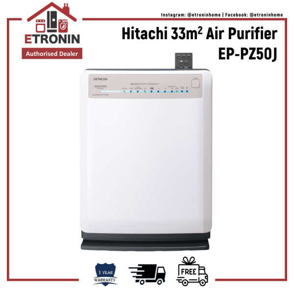 Hitachi 33m2 Air Purifier EP-PZ50J Singapore