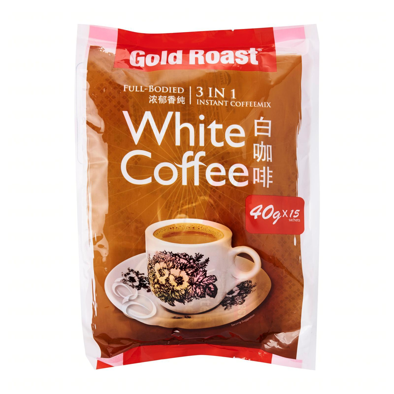 Gold Roast White Coffee 3 In 1