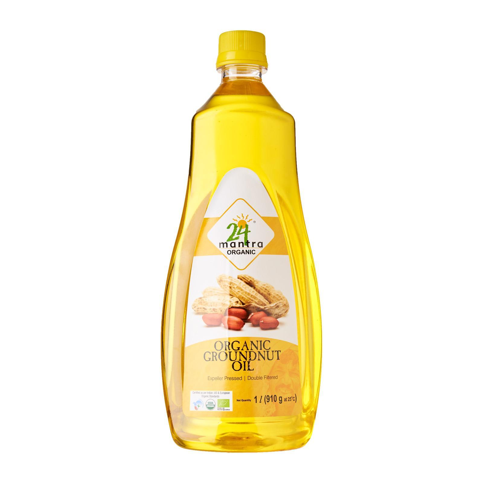 24 Mantra Organic Groundnut Oil By Redmart.