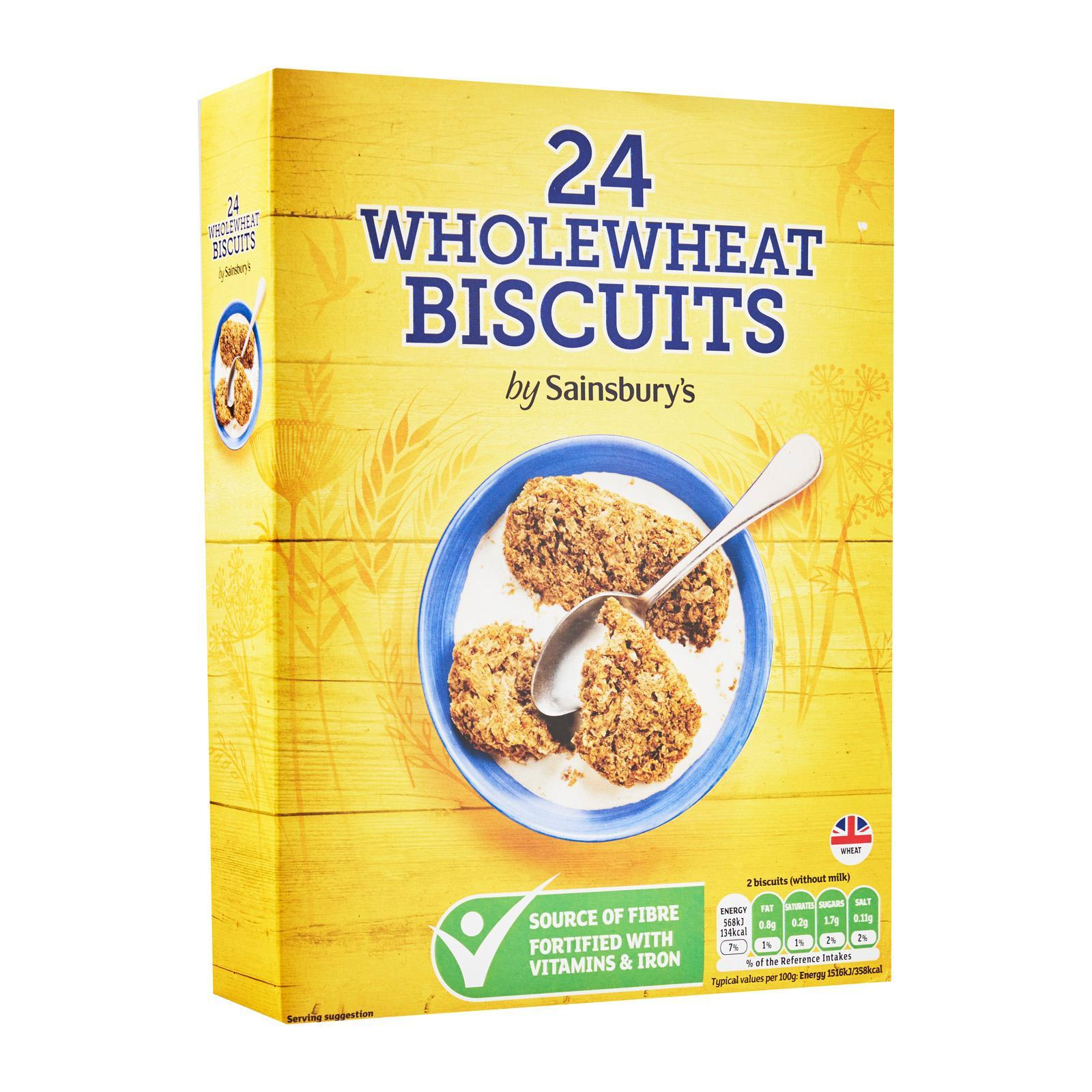 Sainsbury's Wholewheat Biscuits Cereal