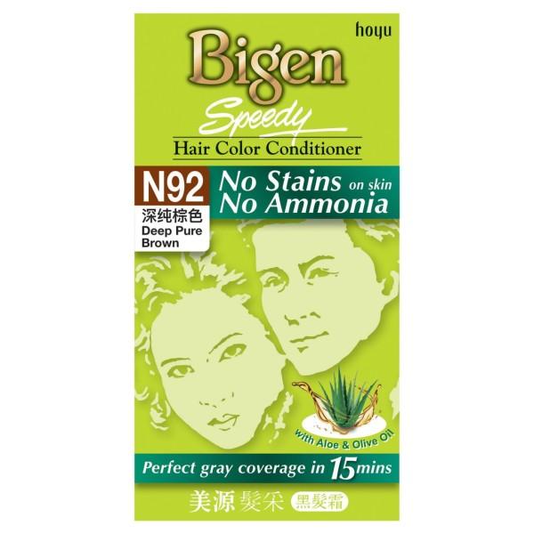 Buy Bigen Speedy Hair Color Conditioner No Stains No Ammonia Singapore