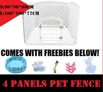 Local Sellerpet Playpen Net / Folding Portable Dog Fence Puppy Kennel/pets Fence By Leocato.