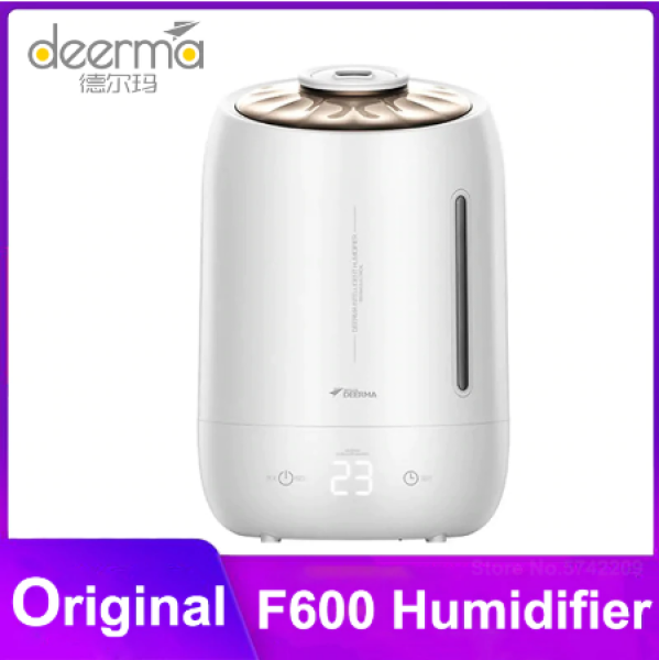 Deerma F600 5l Air Home Ultrasonic Humidifier Touch Version Air Purifying For Air-conditioned Rooms Office Household D5  1 buyer Singapore