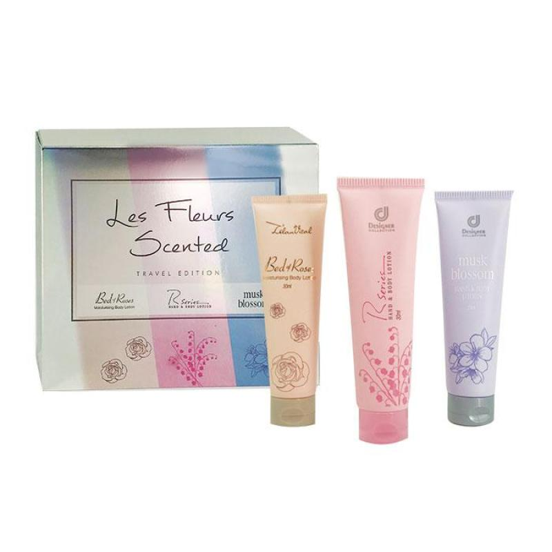 Buy [DC] Les Fleurs Scented Travel Edition - 3 x 30ml (NEW!!!) Singapore