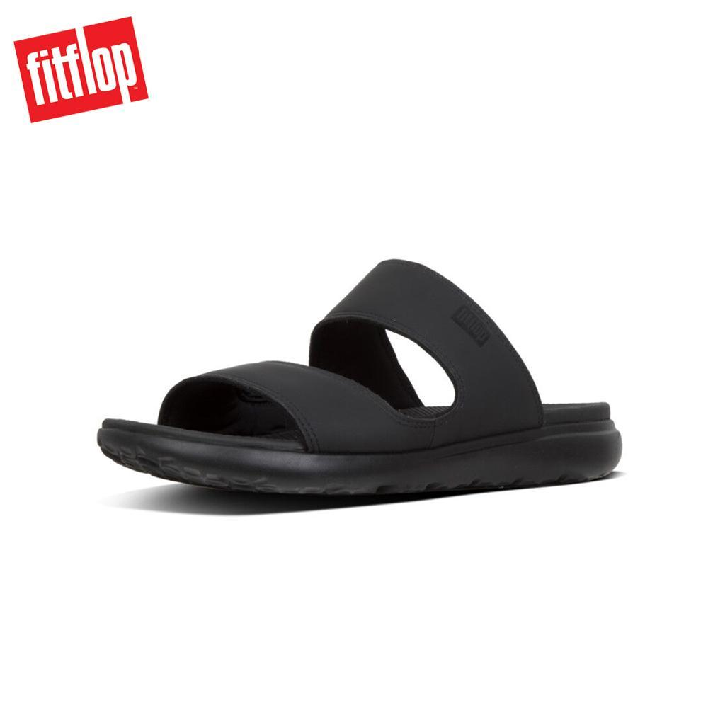 aaef129ad8b0c Singapore. Fitflop™ Lido II Black Men Sandals