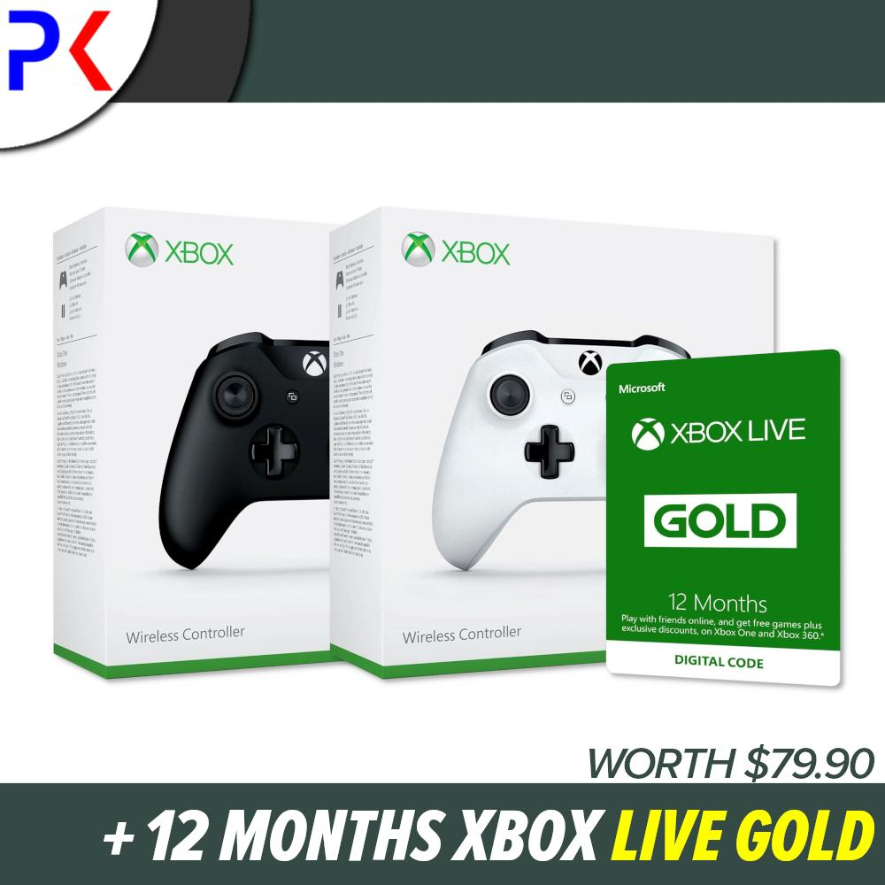 Xbox Live Gold price in Singapore