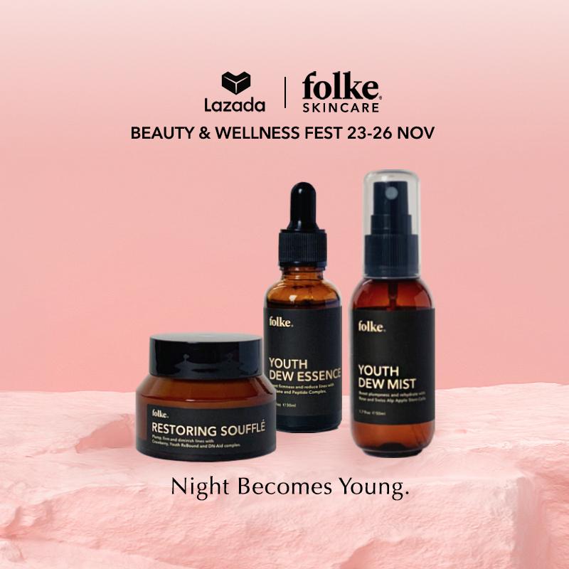 Buy Folke Skincare Night Youth Combo Singapore