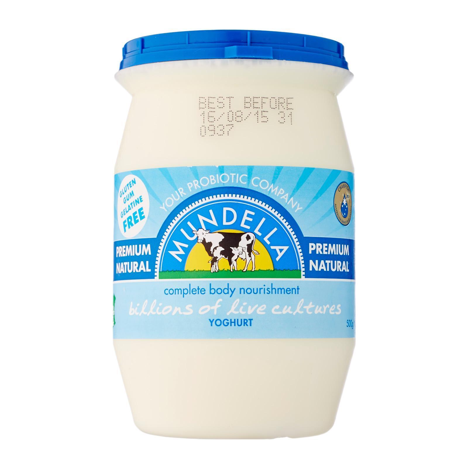 Mundella Premium Natural Yoghurt