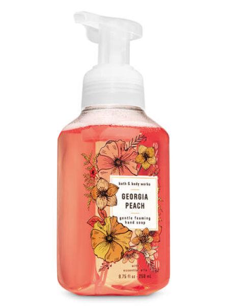 Buy Bath & Body Works GEORGIA PEACH Gentle Foaming Hand Soap 259ml Singapore
