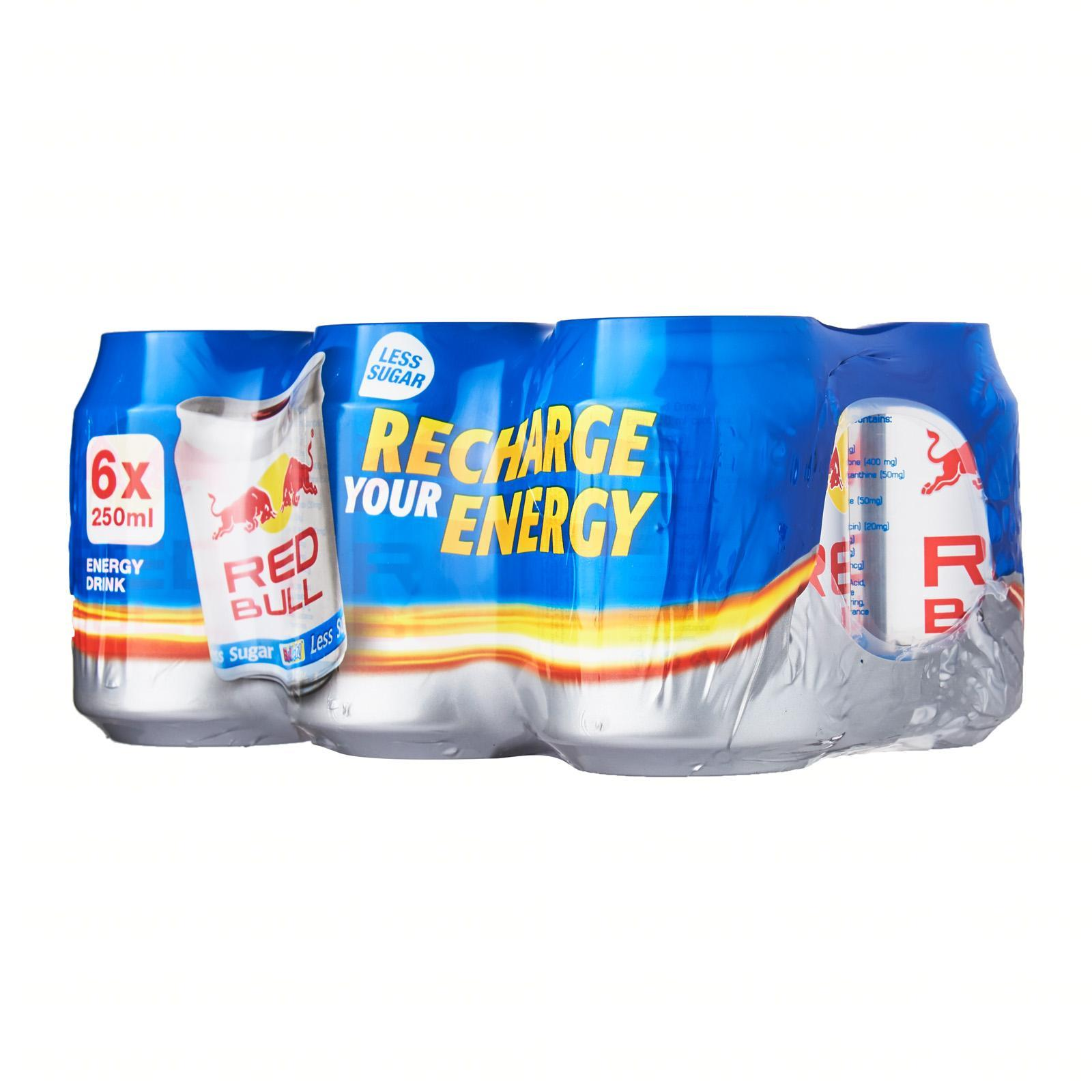 Red Bull Classic Energy Drink 25% Less Sugar