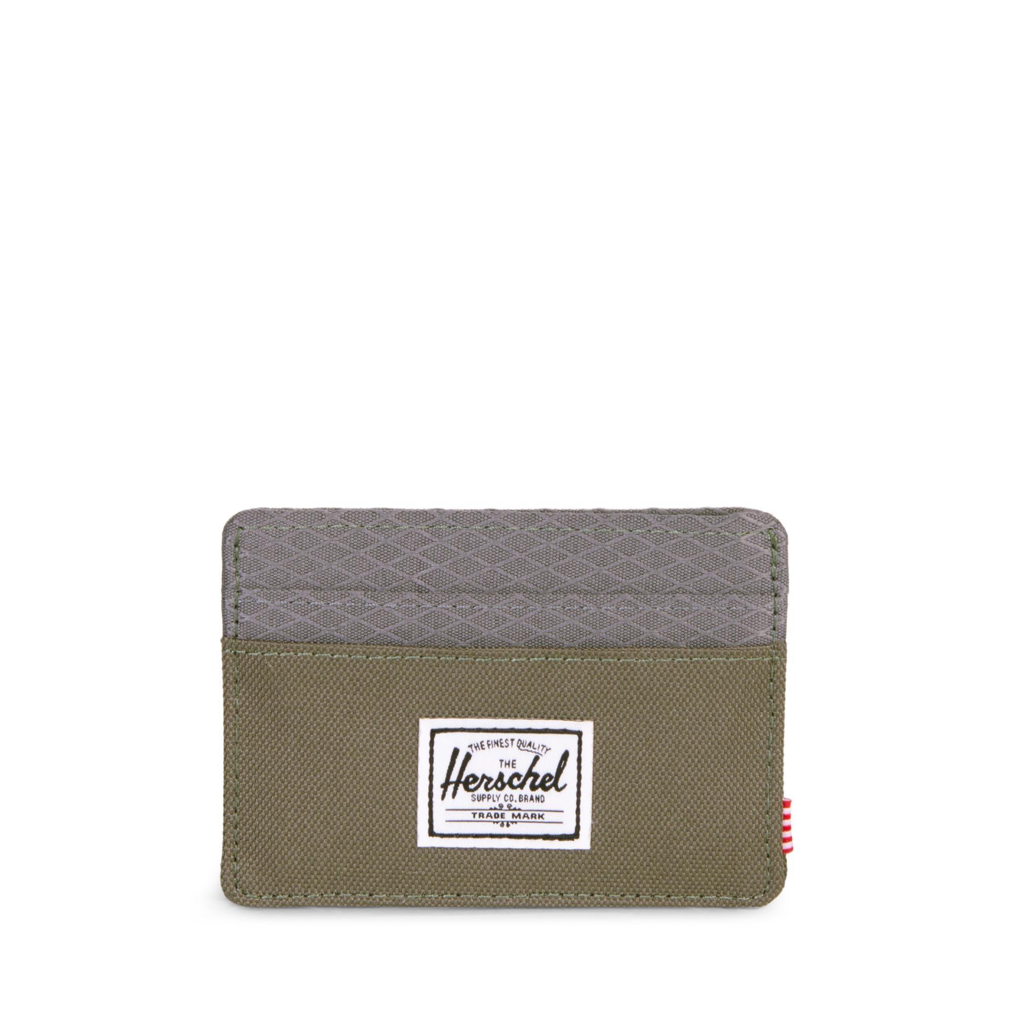 Herschel Charlie RFID - Ivy Green/Smoked Pearl