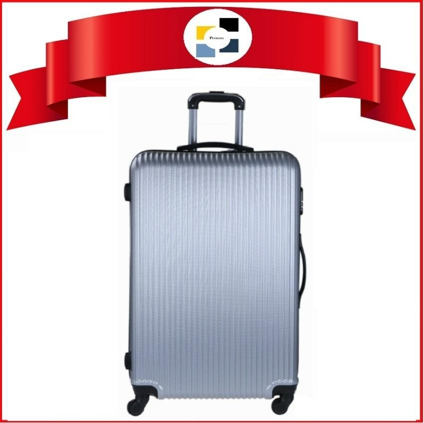 Luggage. Polo City. Check In Baggage 28. Hard Case. Check In Baggage 28 (Length: 47 - 50cm x Width: 29 - 31cm x Height: 65 - 72cm) (3.9KG). 4 Wheel Movement. Comes with inline lock system. Local SG Seller (Light Grey Design No: 01 - 005)