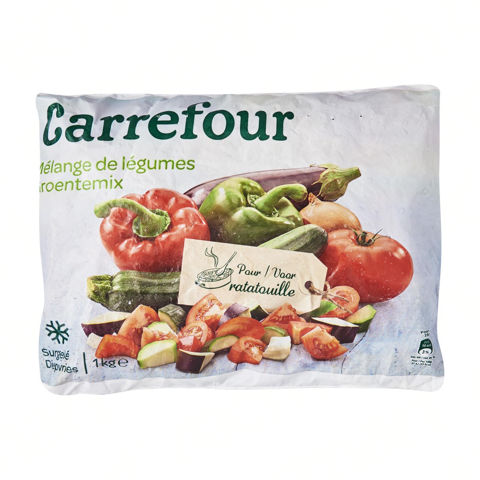 Carrefour Vegetables For Ratatouille - Frozen - By Le Petit Depot By Redmart.
