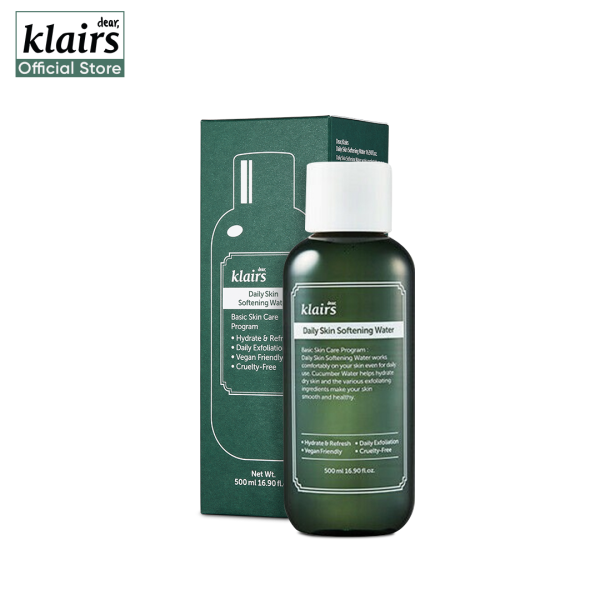 Buy Klairs Daily Skin Softening Water 500ml Singapore
