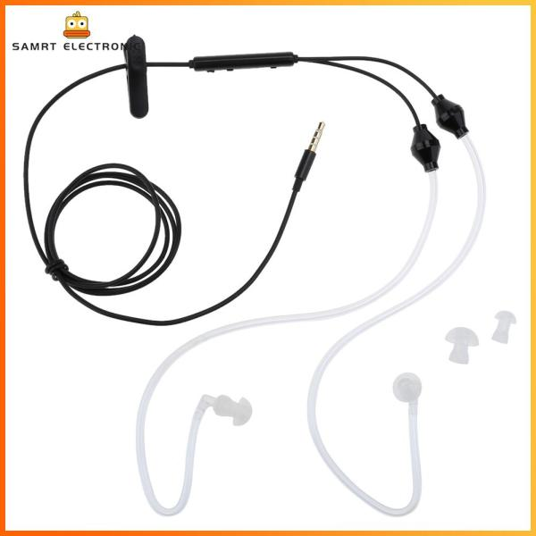 [Free Shipping] Anti-Radiation Earphone FBI 2 Air Acoustic Tube Stereo Headset for iPhone [Suggest Buy Above 2pcs] Singapore