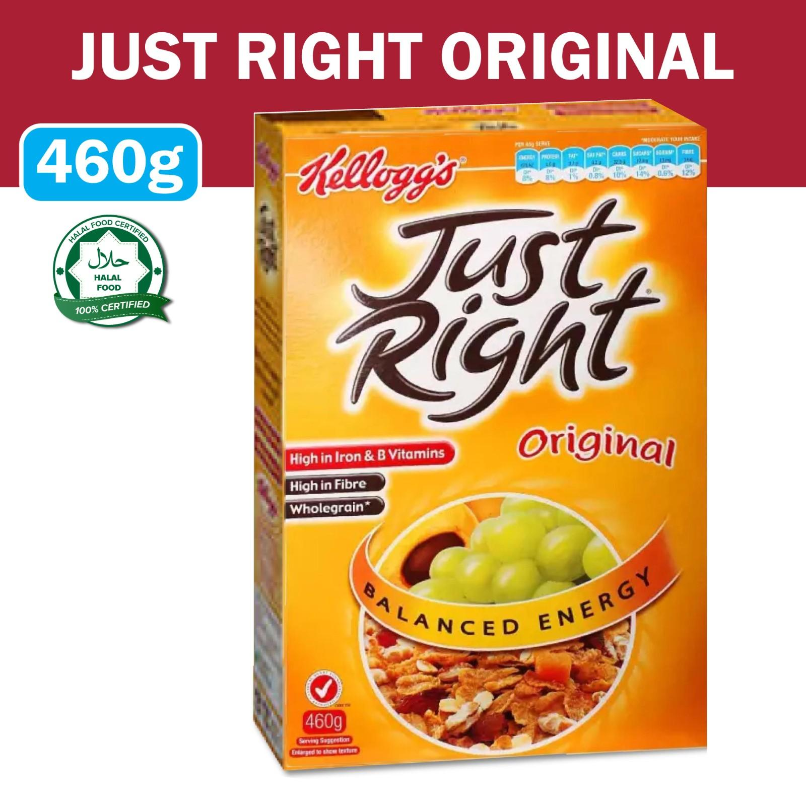 Kellogg's Just Right Original Breakfast Cereal