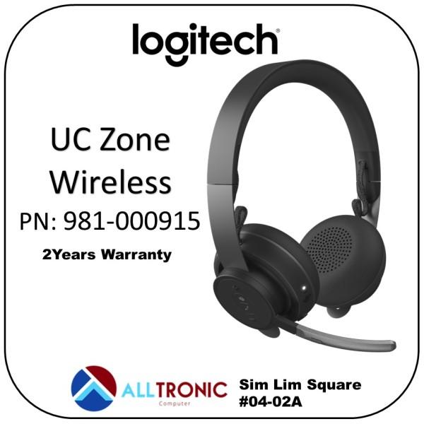 Logitech UC Zone Wireless Bluetooth Headset PN: 981-000915 [Alltronic] Singapore