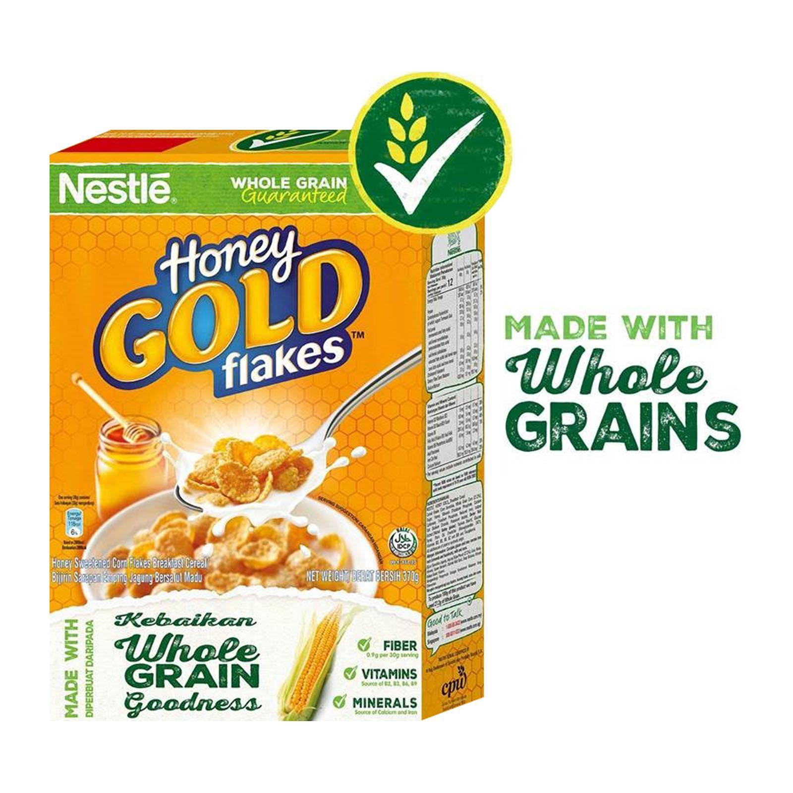 Nestle Honey Gold Cornflakes Cereal By Redmart.
