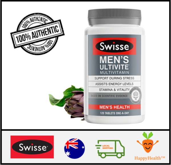 Buy [HappyHealth] - Swisse Men Ultivite Multi-Vitamin 120 tabs Singapore