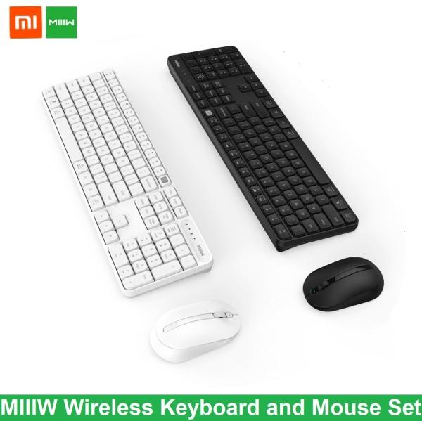 Xiaomi MIIIW Wireless Keyboard and Mouse Set GEN 2 Combo Set Windows Mac Dual Mode 104 Keys Office Home