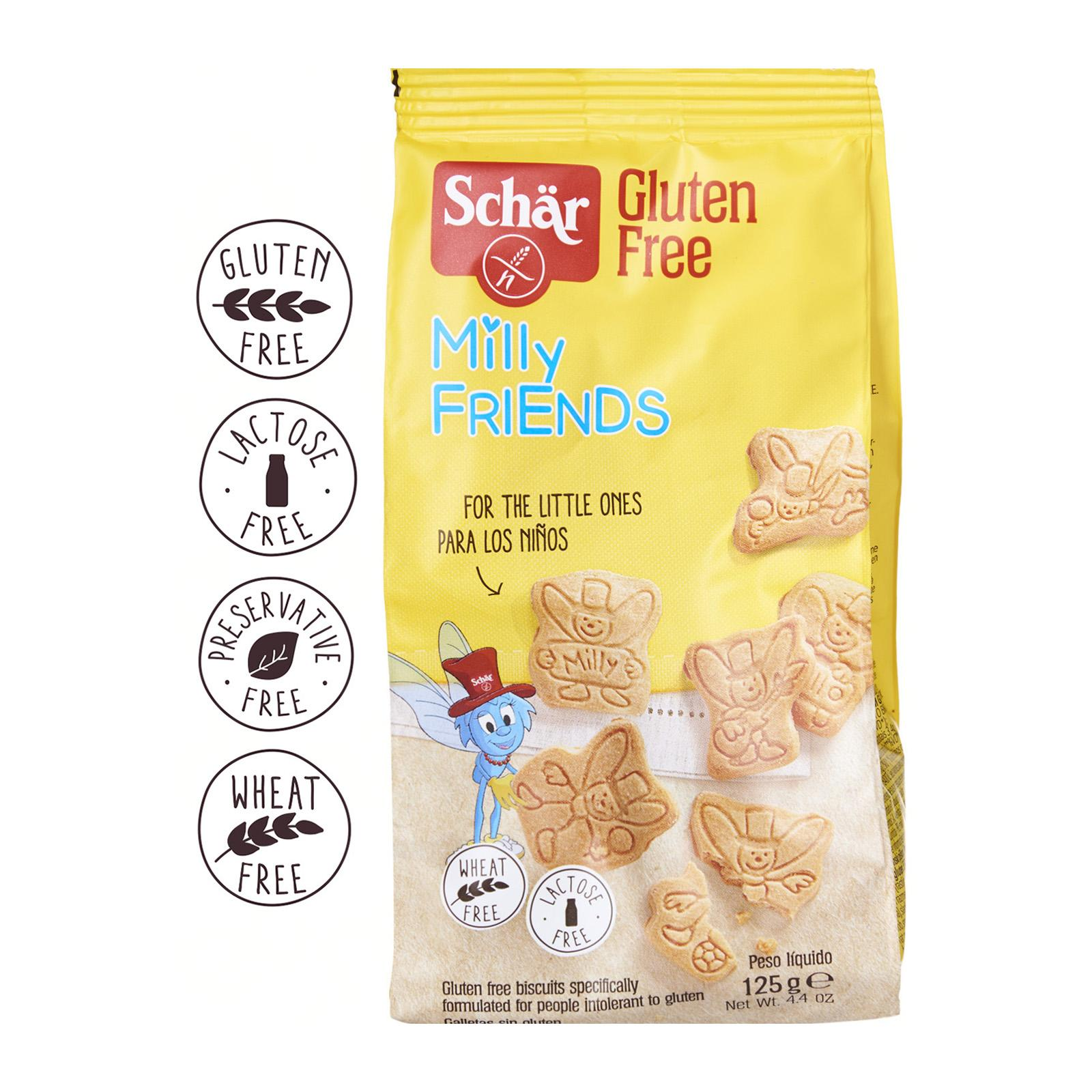 Dr. Schar Milly Friends Biscuits or Cookies - Gluten Free by Agora Products