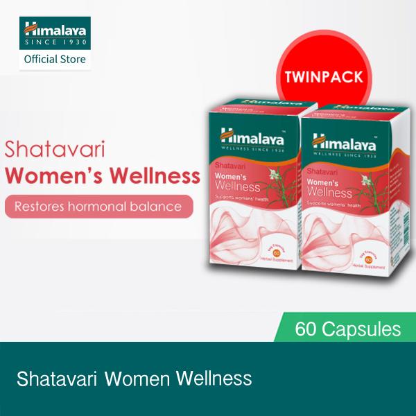 Buy [Himalaya] Shatavari Womens Wellness Bundle of 2 (60 Capsules x 2) - Womens Health Singapore