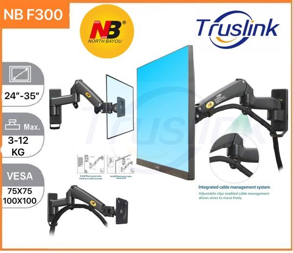 【SG Seller】Truslink Original North Bayou NB F300 Gas Strut Gas Spring Wall Mount For TV/Monitor below 35″ Support Up To 12KG