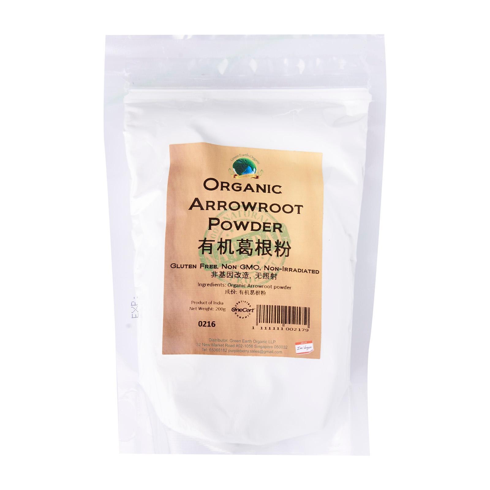 Organic Arrowroot Powder.